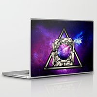astronaut Laptop & iPad Skins featuring Astronaut by Pancho the Macho