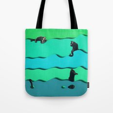 Lazy Cats Tote Bag