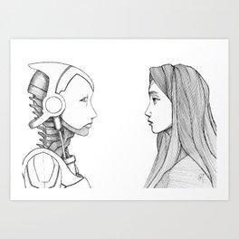 Reversibility Art Print