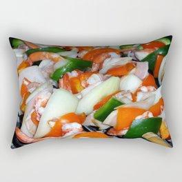 Shrimps Rectangular Pillow