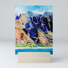 Na Pali Coast Mini Art Print