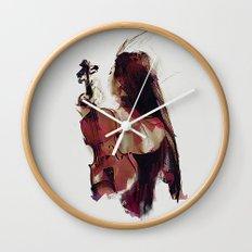 Strings Wall Clock