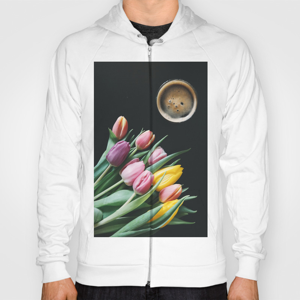 Coffee And Flowers Hoody by Thankyou SSR8018575