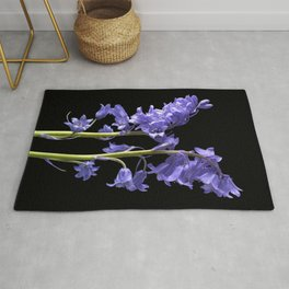 Bluebells, From the very Woods I Created! Rug