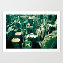 Green City Art Print