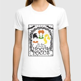 It's Just A Bunch Of Hocus Pocus Baseball Halloween Tee Sanderson Sister T-Shirts T-shirt