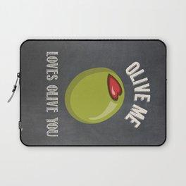 Olive Me Loves Olive You Laptop Sleeve