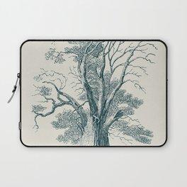 Antique Tree Illustration I Laptop Sleeve