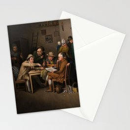 The Village Politicians Stationery Cards