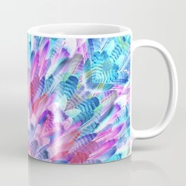 tropical bird feathers Coffee Mug