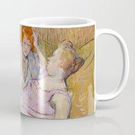 "Henri de Toulouse-Lautrec ""The Sofa"" Coffee Mug"
