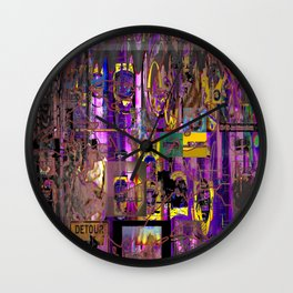 A Litany (of Complaints) [A.N.T.S. Series] Wall Clock