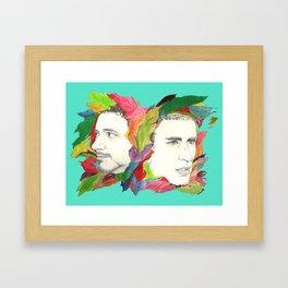 Something color Framed Art Print