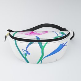 One Flower - Study 3. Back Fanny Pack