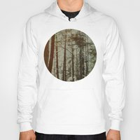 oregon Hoodies featuring Oregon Woods by Leah Flores