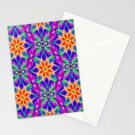 Psychedelic Garden of  Love.... Stationery Cards