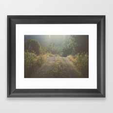 Backroad Wandering Framed Art Print