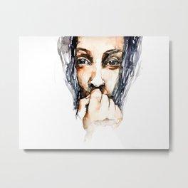 FACE#2 Metal Print