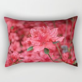 Monet's Garden Floral 2 Rectangular Pillow
