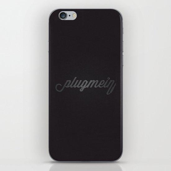 Plug Me In iPhone & iPod Skin