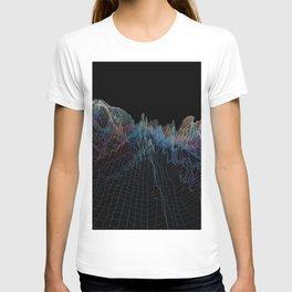 glitch waves T-shirt