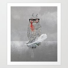 Owl a part of your dream! Art Print