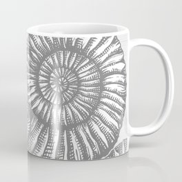 AMMONITE COLLECTION GRAY Coffee Mug