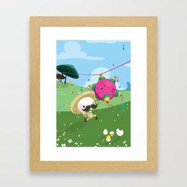 no pierdas el tino Framed Art Print