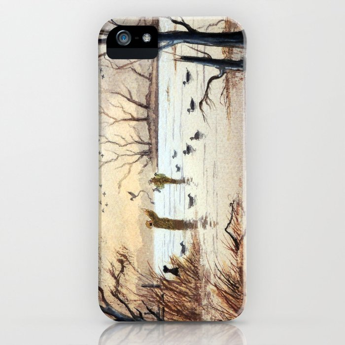 Setting The Decoys II iPhone Case