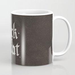 Calligraphy Trick or Treat Coffee Mug