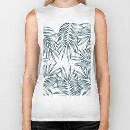 Palm Leaves #society6 #buyart Biker Tank