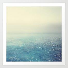 Foggy Daydream Art Print