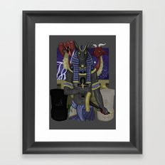 Set Pro Gloria Framed Art Print