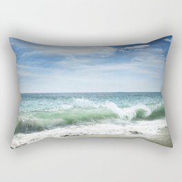 Awesome Beach Rectangular Pillow