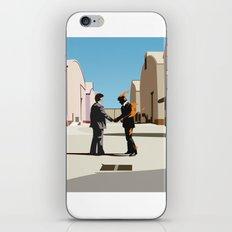 Wish you were flat iPhone & iPod Skin