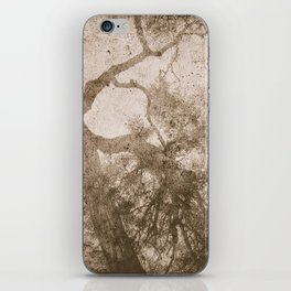 Vintage delicate tree pattern iPhone Skin
