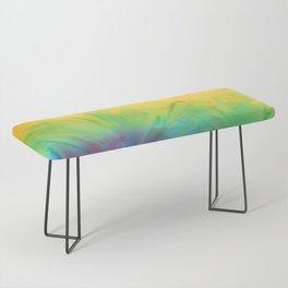 Tie Dye Bench