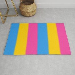 Pansexual Pride Flag v2 Rug