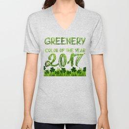 Greenery No. 1 Unisex V-Neck