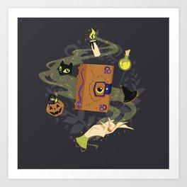 Booooook! (It's Just a Bunch of Hocus Pocus) Art Print
