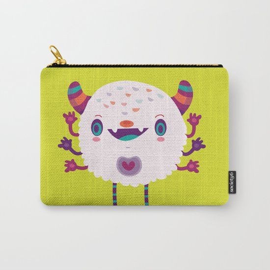 Puffy monster Carry-All Pouch