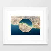 america Framed Art Prints featuring AMERICA by DILLON MCINTOSH