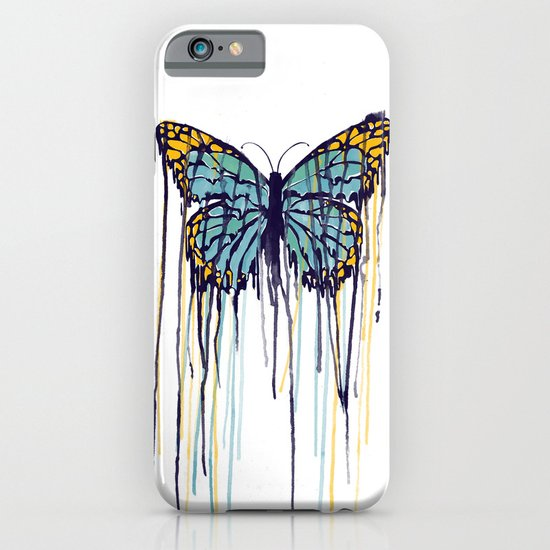 Melting Monarch (collab with Matheus Lopes) iPhone & iPod Case
