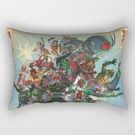 Showa Rider / Kamen Rider All-Star Rectangular Pillow