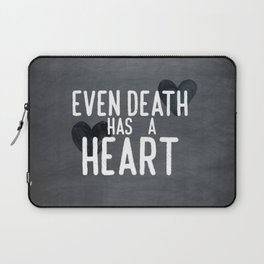 The Book Thief - Even Death Has a Heart Laptop Sleeve