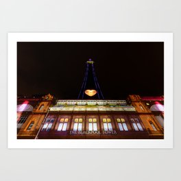 The Blackpool Tower Art Print