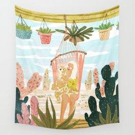 Desert Home Wall Tapestry