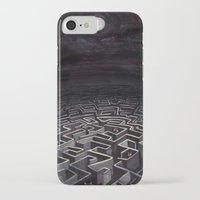 labyrinth iPhone & iPod Cases featuring Labyrinth by Richard J. Bailey
