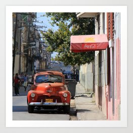 Havana 30 Art Print
