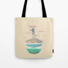 Clouds fisherman Tote Bag